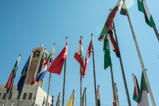 Église arabe à amman en jordanie