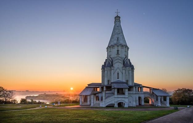 Église de l'ascension et la porte de kolomenskoïe à moscou