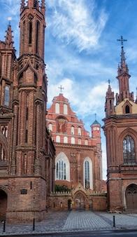Eglise catholique au centre de vilnius