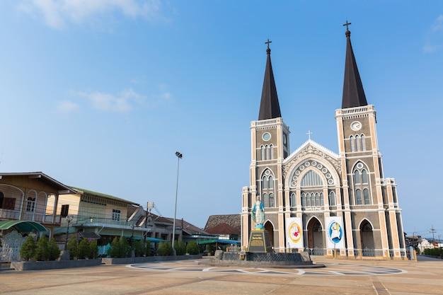 L'église catholique de chanthaburi