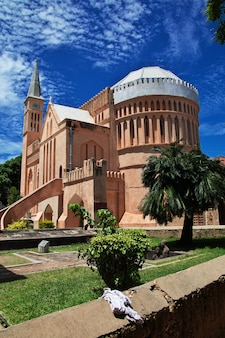 Église, dans, pierre ville, ville, zanzibar, tanzanie
