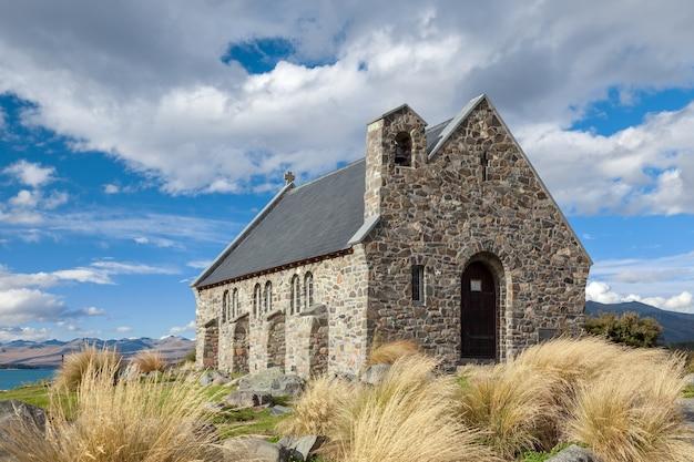 Église du bon pasteur au lac tekapo en nouvelle-zélande