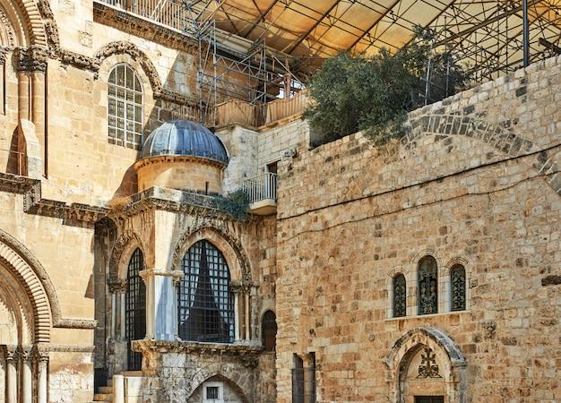 Eglise du saint-sépulcre dans la vieille ville