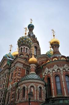 Église du sauveur sur le sang versé, saint-pétersbourg, russie