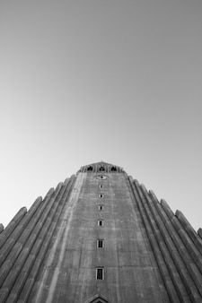 L'église hallgrims du centre-ville de reykjavik
