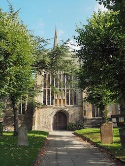 L'église holy trinity à stratford upon avon