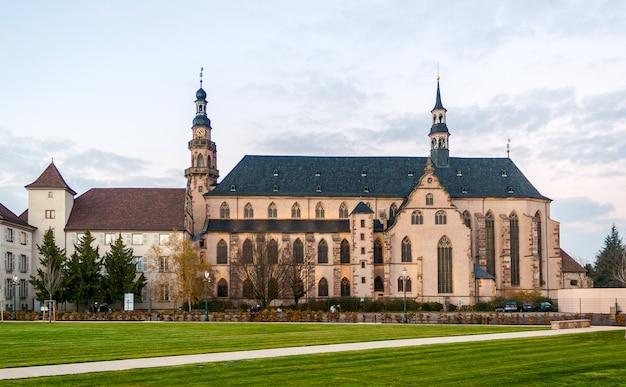 Église des jésuites à molsheim, alsace, france
