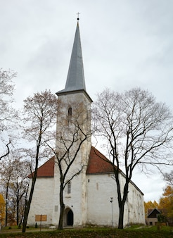 Église luthérienne, johvi, estonie.