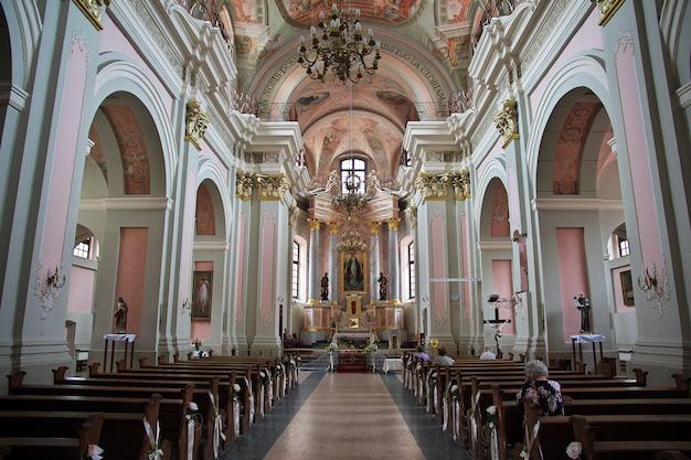 L'église à minsk, en biélorussie
