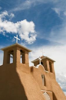 Église de la mission de san francisco de asis au nouveau mexique