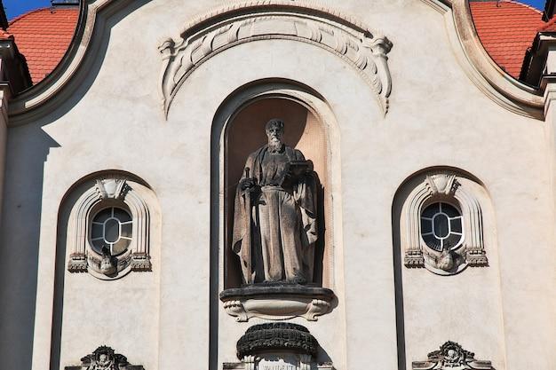 L'église de moritzburg en allemagne, saxe