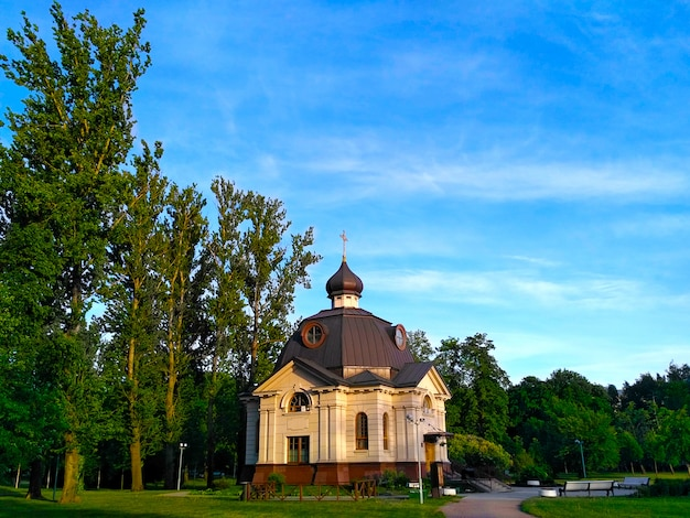 Église orthodoxe, nommée en l'honneur de la fête orthodoxe de l'église orthodoxe russe