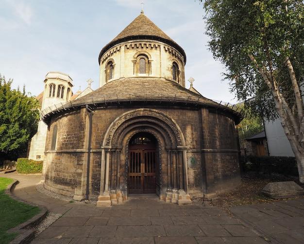 Église ronde à cambridge