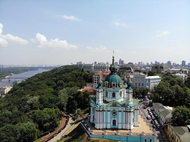 Église saint-andré à kiev, la capitale de l'ukraine