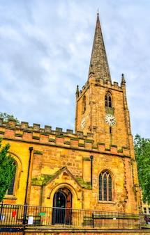 Église saint-pierre à nottingham east midlands, angleterre