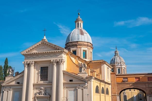 L'église de san rocco à rome, italie. religion.