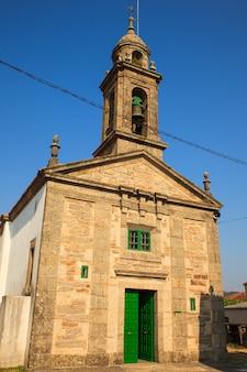 Église santa eulalia, o pedrouzo, espagne