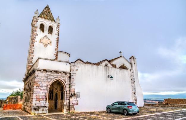 Église de santa maria au château d'estremoz au portugal
