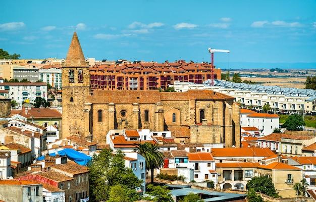 Église de santiago à caceres espagne