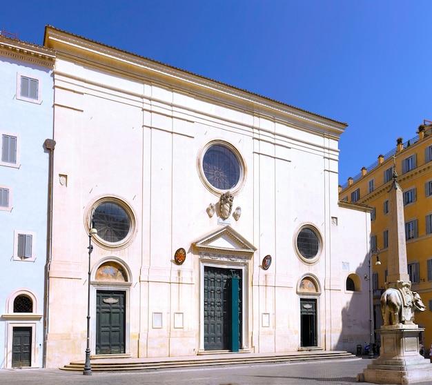 L'église santissimo nome di maria de rome. rome. italie.