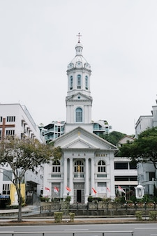Église à singapour