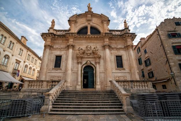 Église st blaise, dubrovnik, croatie