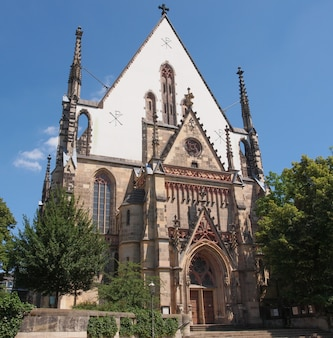 Église thomaskirche à leipzig