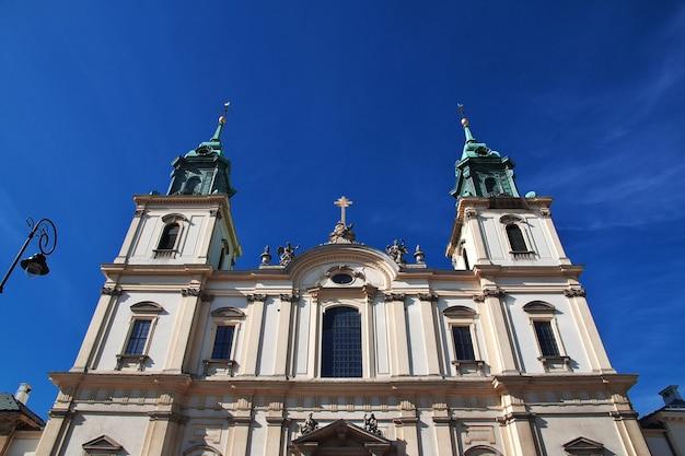 L'église de varsovie pologne