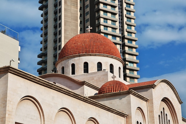 L'église de la ville de beyrouth, liban