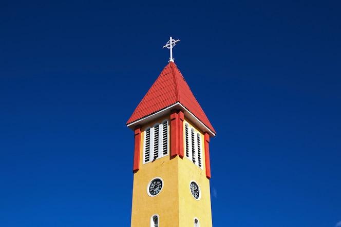 église de la ville d'ushuaia sur la terre de feu, argentine