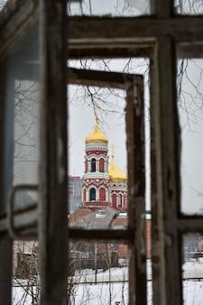 Églises de nijni novgorod en hiver