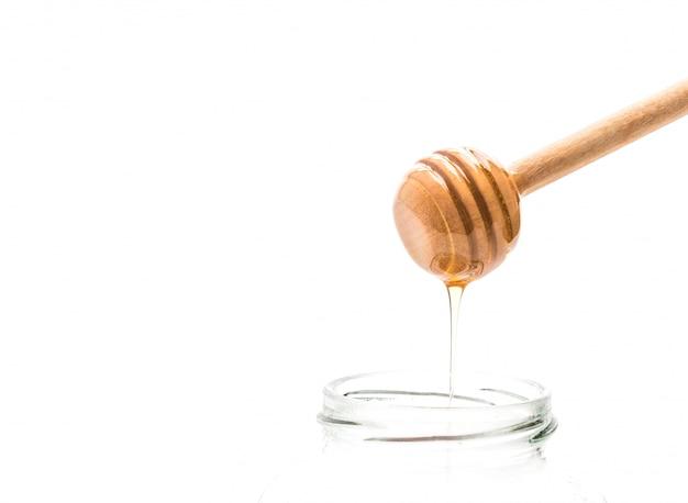 Égouttement de miel en pot