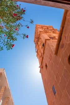 Egypte, chapelle du monastère de catherine par une belle journée ensoleillée