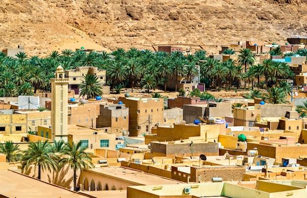 El atteuf, une ancienne ville berbère de la vallée du m'zab en algérie