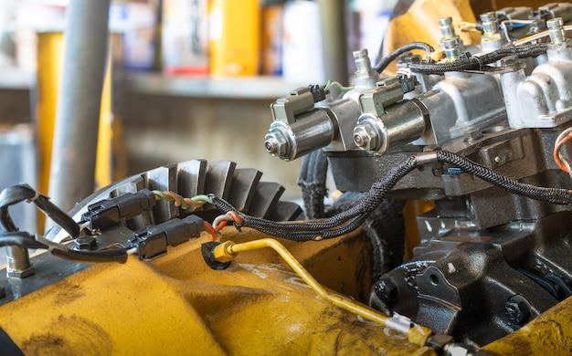 Électrovanne du tracteur de bulldozer de soupape de commande de transmission