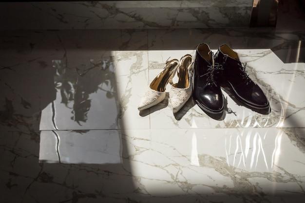 Élégantes chaussures de ville et de cérémonie pour mariage