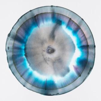 Élément d'art de chromatographie ronde esthétique
