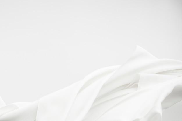 Élément de conception de texture de tissu blanc