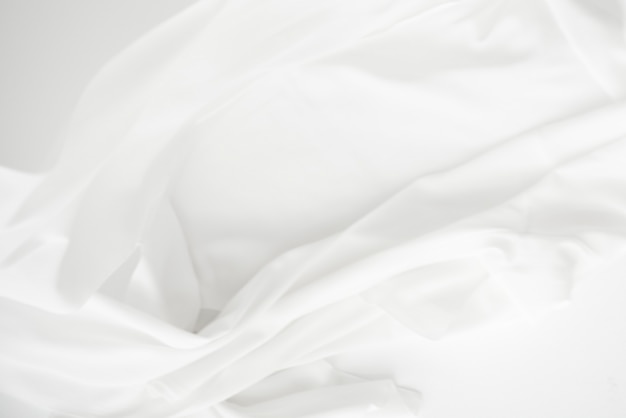 Élément de design de fond de texture de tissu blanc