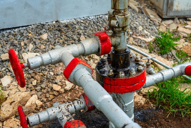 Élément de station de pompage pour la production de pétrole et de gaz naturel