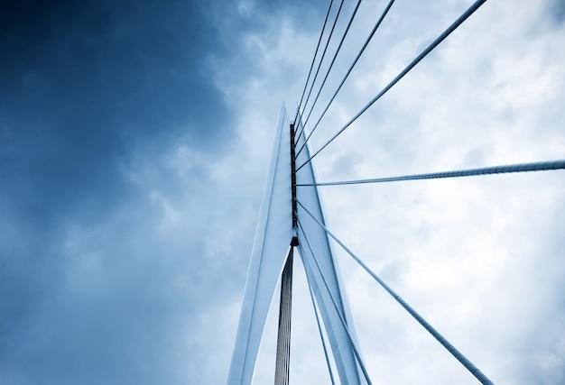 Éléments architecturaux abstraits, gros plan de pont