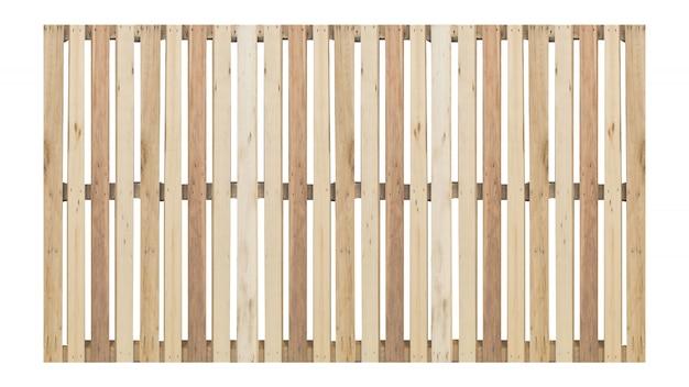Élévation, isolé, clôture bois, façade