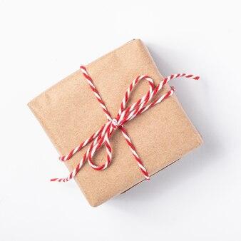 Emballage de boîte cadeau papier zéro déchet