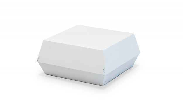 Emballage de boîte à hamburger