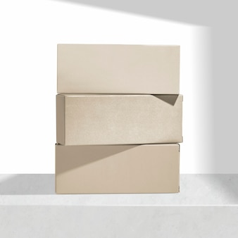 Emballage de boîte de papier kraft