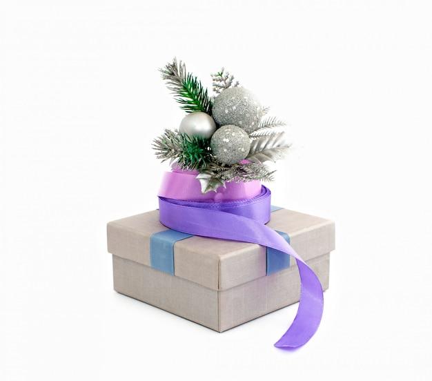 Emballage de cadeau de vacances