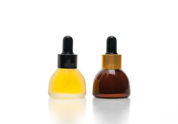Emballage cosmétique d'huile de sérum de soin de la peau