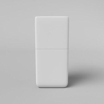 Emballage cosmétique pour photos publicitaires. rendu 3d.