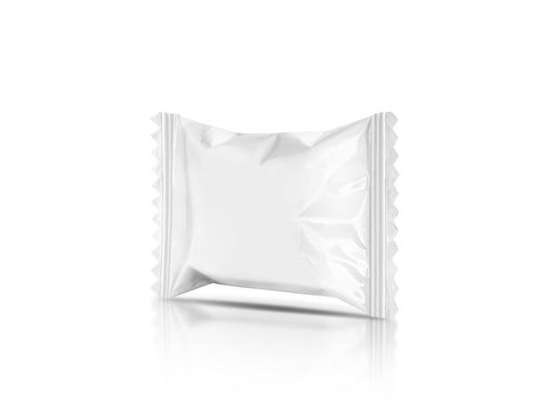 Emballage vierge bonbon sachet palstic isolé