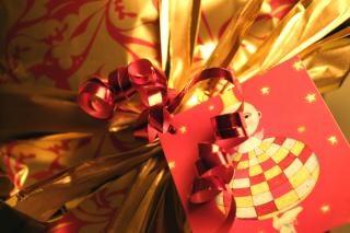 Emballages cadeaux de près